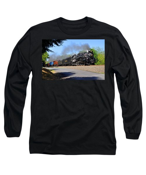 Powerful Nickel Plate Berkshire Long Sleeve T-Shirt