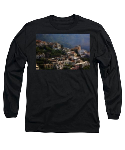 Praiano Amalfi Coast Long Sleeve T-Shirt