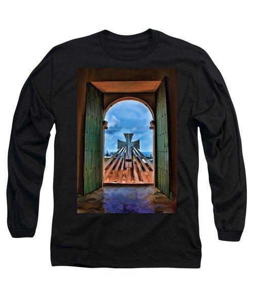 Prayers For Cartegena Long Sleeve T-Shirt