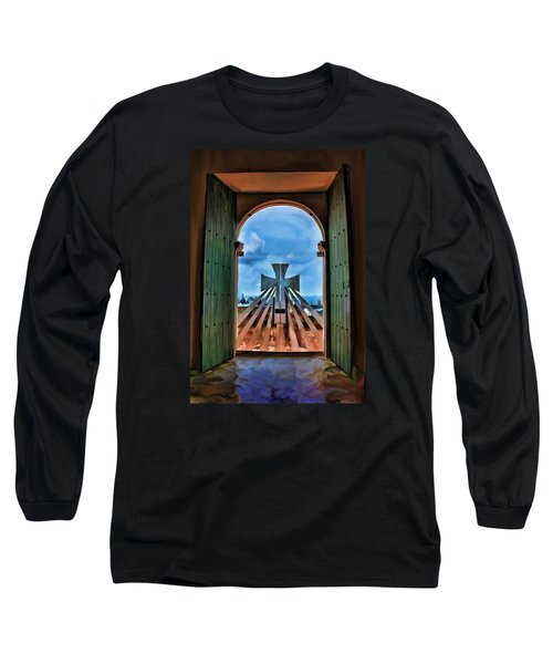 Prayers For Cartegena Long Sleeve T-Shirt