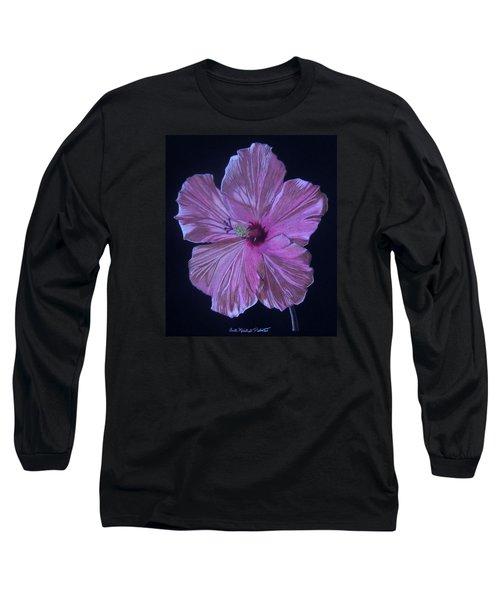 Pretty In Pink Long Sleeve T-Shirt by Anita Putman