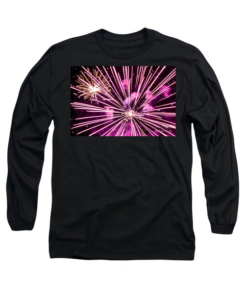 Long Sleeve T-Shirt featuring the photograph Pretty In Pink by Suzanne Luft