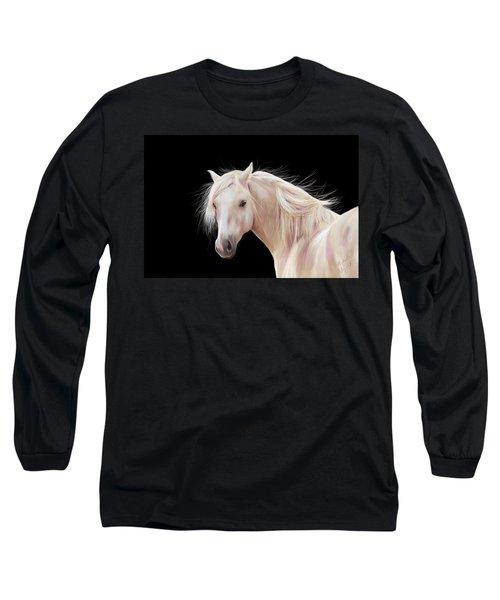 Pretty Palomino Pony Painting Long Sleeve T-Shirt