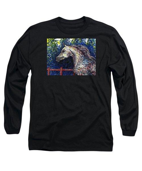 Primarily Arabian Long Sleeve T-Shirt by VLee Watson