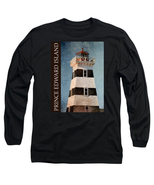 Long Sleeve T-Shirt featuring the photograph Prince Edward Island Lighthouse by WB Johnston