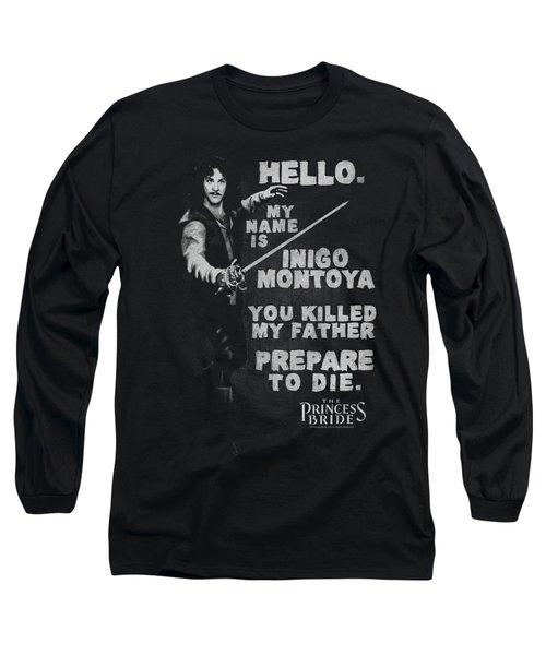 Princess Bride - Hello Again Long Sleeve T-Shirt