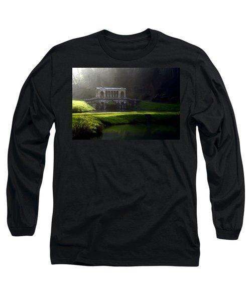 Prior Park Bath Long Sleeve T-Shirt by Ron Harpham
