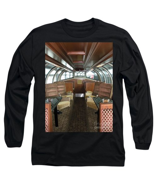 Private Dome Rail Car  Long Sleeve T-Shirt