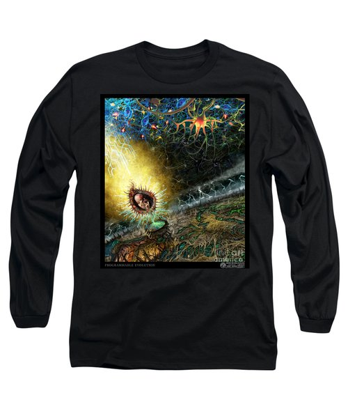 Programmable Evolution  Long Sleeve T-Shirt