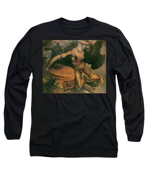 Prometheus Oil On Canvas Long Sleeve T-Shirt