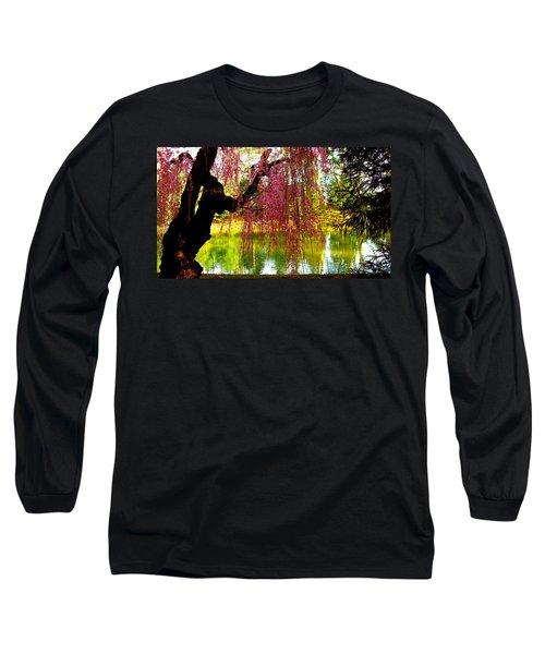 Prospect Park In Brooklyn Long Sleeve T-Shirt
