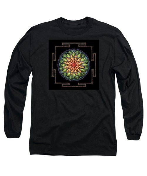Long Sleeve T-Shirt featuring the painting Prosperity by Keiko Katsuta