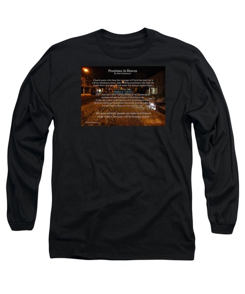 Prostitutes In Heaven Long Sleeve T-Shirt