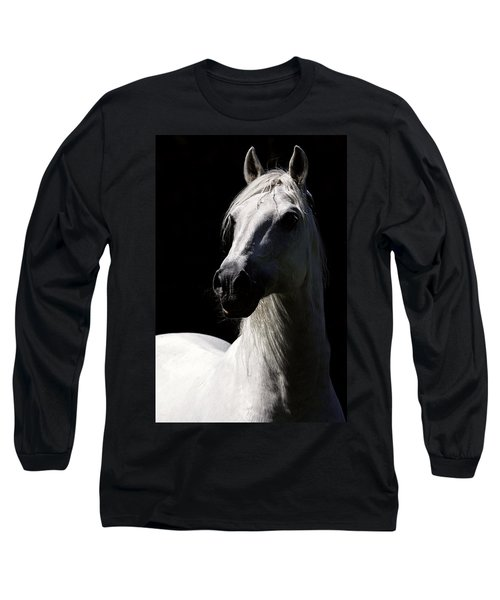 Proud Stallion Long Sleeve T-Shirt by Wes and Dotty Weber