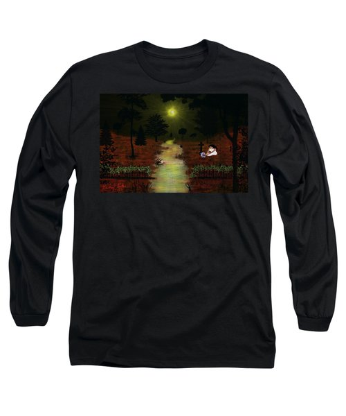 Psalm 23  Long Sleeve T-Shirt by Michael Rucker