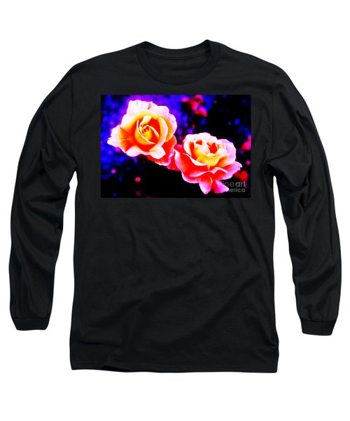 Psychedelic Roses Long Sleeve T-Shirt