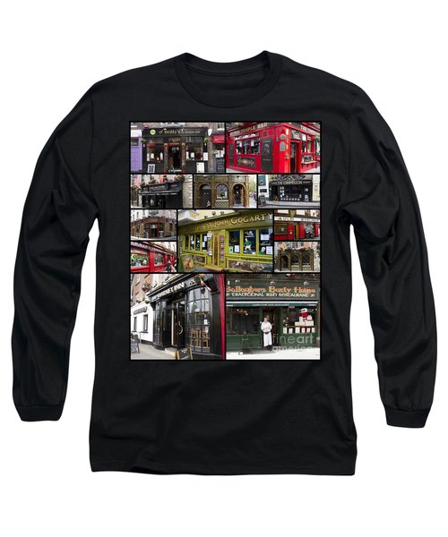 Pubs Of Dublin Long Sleeve T-Shirt
