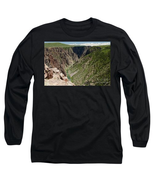 Pulpit Rock Overlook Black Canyon Of The Gunnison Long Sleeve T-Shirt
