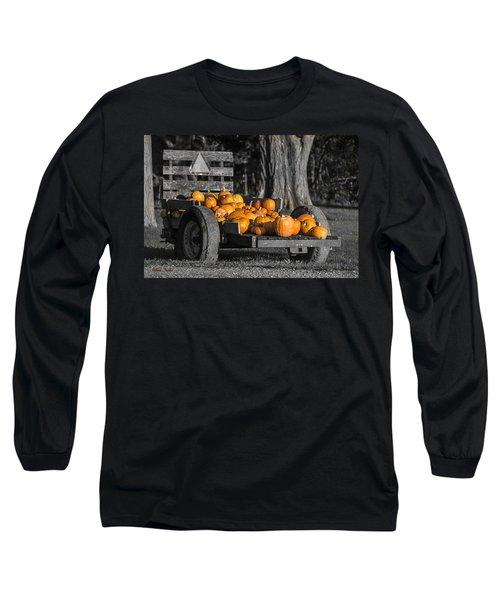 Pumpkin Cart Long Sleeve T-Shirt