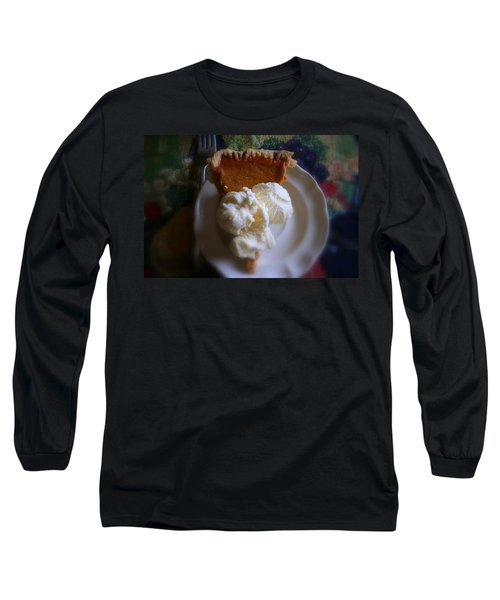Pumpkin Pie A' La Mode Long Sleeve T-Shirt