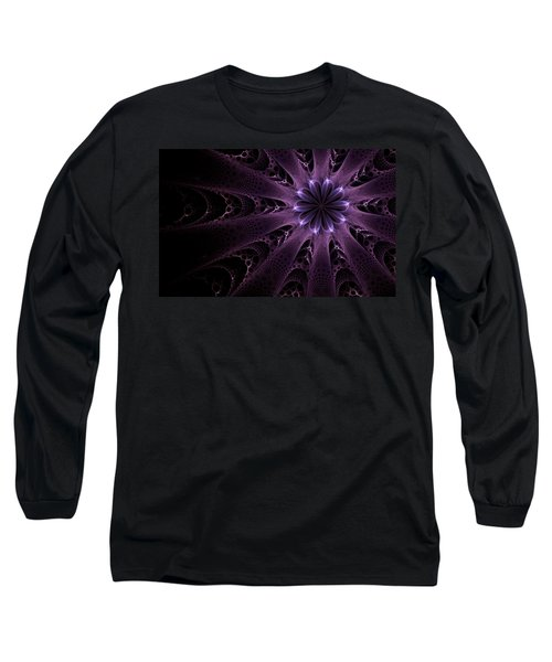 Purple Passion Long Sleeve T-Shirt by GJ Blackman