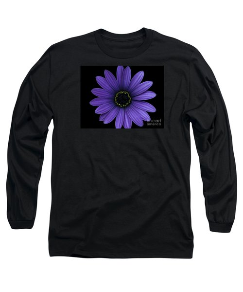 Long Sleeve T-Shirt featuring the photograph Purple Peace by Janice Westerberg