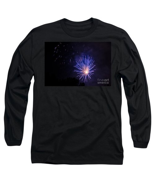 Purple Power Long Sleeve T-Shirt by Suzanne Luft
