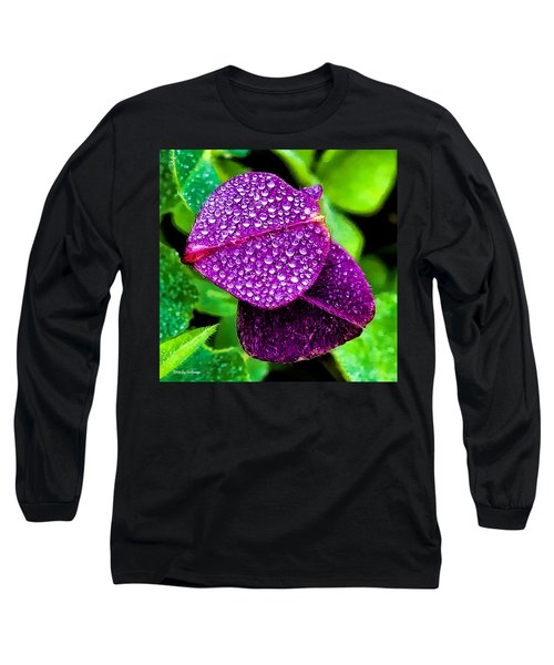 Purple Shimmer Long Sleeve T-Shirt