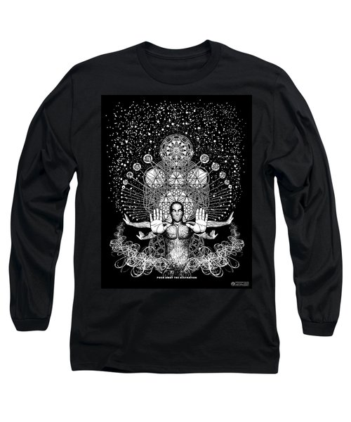 Push Away The Distractions  Long Sleeve T-Shirt