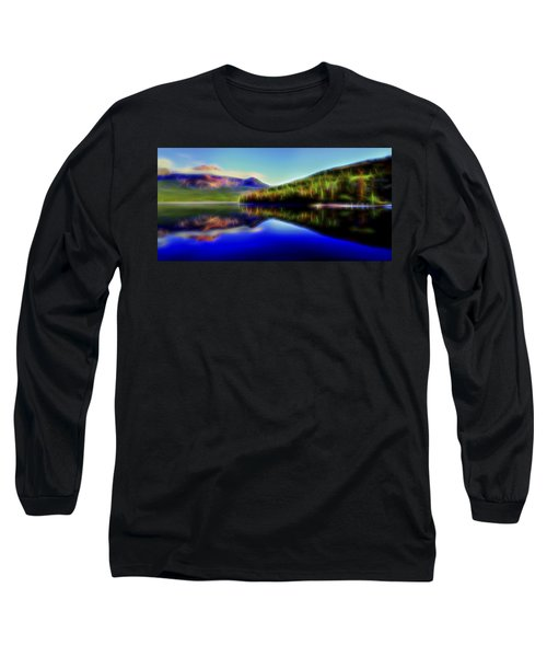 Pyramid Mirror 1 Long Sleeve T-Shirt by William Horden