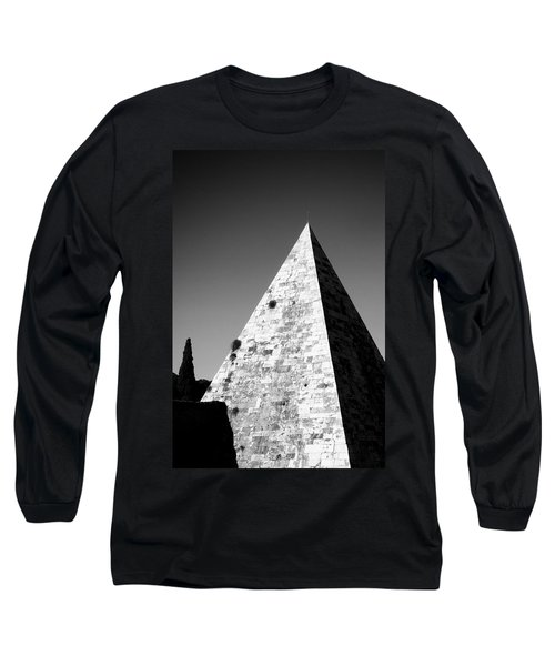 Pyramid Of Cestius Long Sleeve T-Shirt
