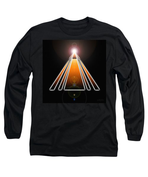 Pyramid Of Light Long Sleeve T-Shirt