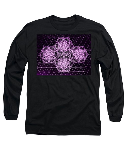 Quantum Snowfall Long Sleeve T-Shirt