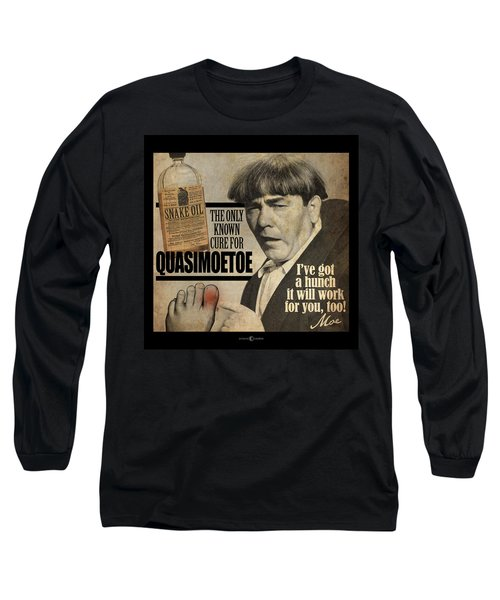 Quasimoetoe Poster Long Sleeve T-Shirt