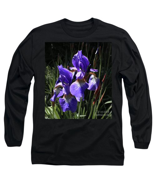 Quebec Provincial Flower Long Sleeve T-Shirt