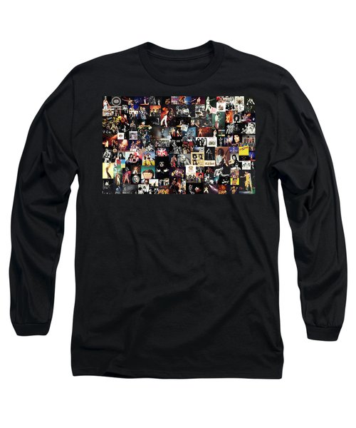 Queen Collage Long Sleeve T-Shirt