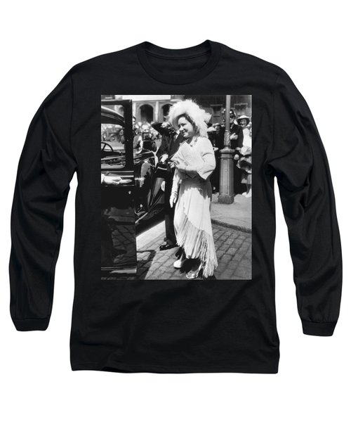 Queen Elizabeth Fashion Long Sleeve T-Shirt by Underwood Archives