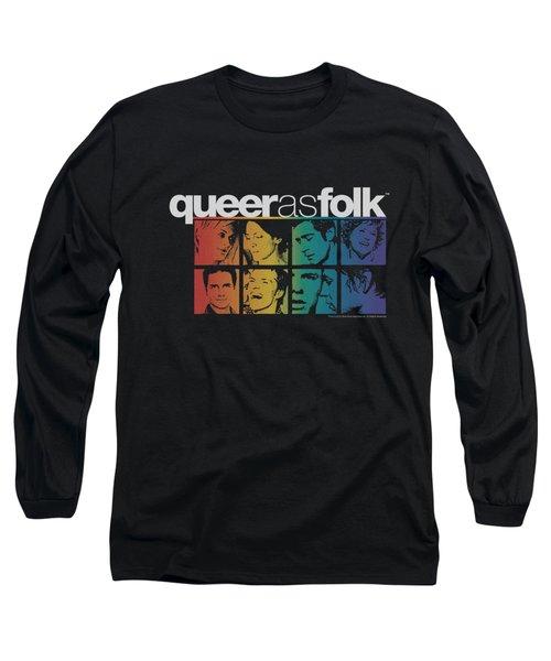 Queer As Folk - Cast Long Sleeve T-Shirt