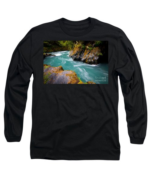 Quinault River Bend Long Sleeve T-Shirt