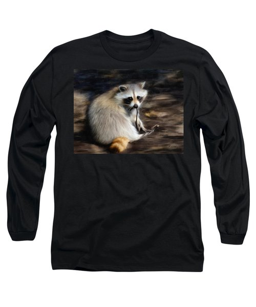 Racoon Long Sleeve T-Shirt