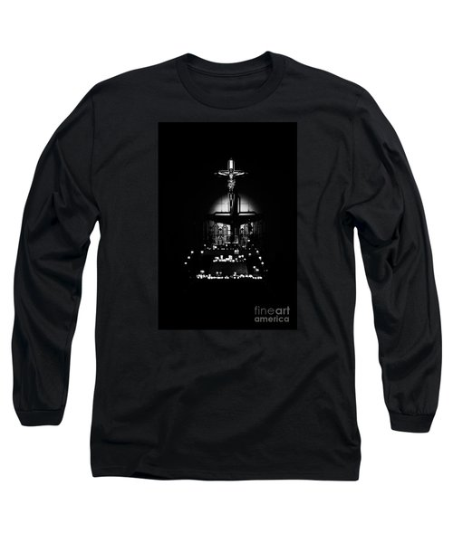 Radiant Light - Black Long Sleeve T-Shirt