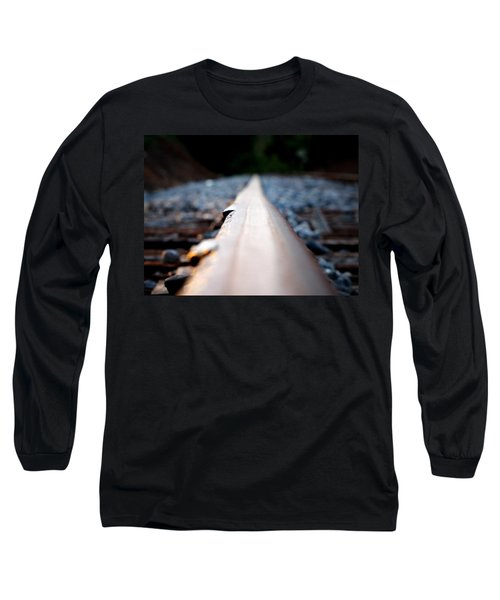 Long Sleeve T-Shirt featuring the photograph Rail Line by Greg Simmons