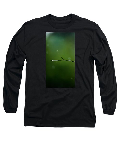 Rain Bokeh Long Sleeve T-Shirt by Shelby  Young