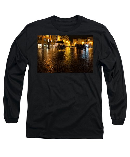 Rain Chased The Tourists Away... Long Sleeve T-Shirt