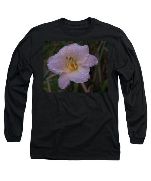 Rain Daylilly 2 Long Sleeve T-Shirt