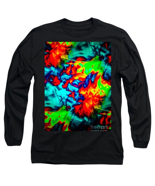 Rainbow Dye Long Sleeve T-Shirt