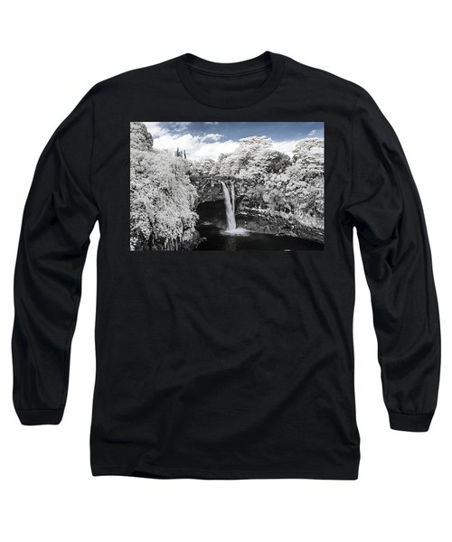 Rainbow Falls In Infrared 2 Long Sleeve T-Shirt