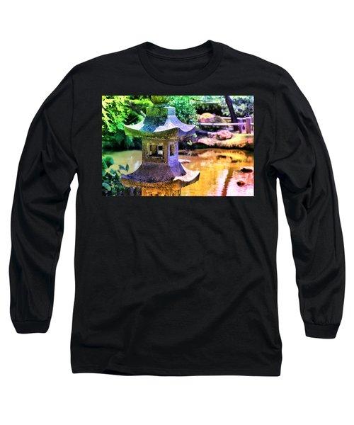 Rainbow Pagoda Long Sleeve T-Shirt
