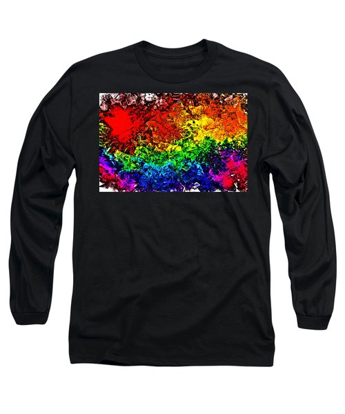 Rainbow Pieces Long Sleeve T-Shirt