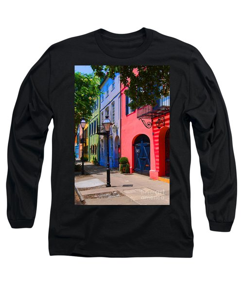 Rainbow Row Charleston Long Sleeve T-Shirt